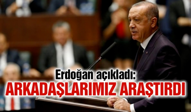 Erdoğan: Bu işi ABD bu noktaya getirdi