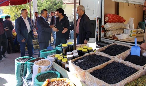 Yıldırım, 15 Temmuz Şehitler Köşesi'nin açılışını yaptı