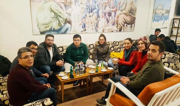 Skal Konya kulübü ; Yeni il kültür ve turizm müdürü ile bir araya geldi