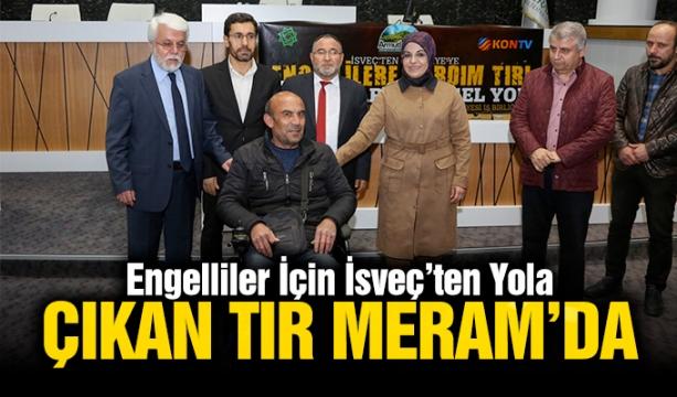 Ahmet Davutoğlu Tribünde