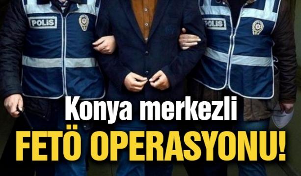 Konya'da Suyla Dolan Alt Geçitte Mahsur Kaldı