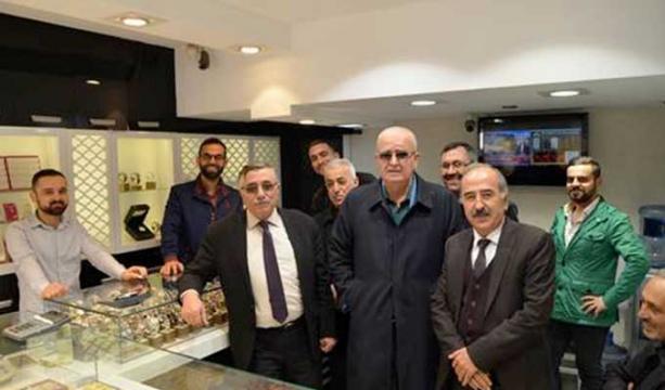 Başkan Karahan'a ziyaret
