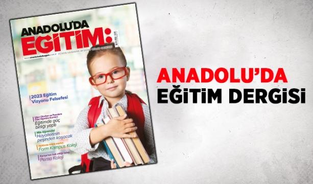 Anadolu'da Bugün Eğitim Dergisi