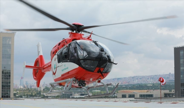 'Helikopter ambulanslar 2008'den bu yana 31 bin 900 hasta taşıdı'