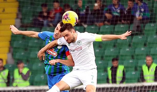 Konyaspor, geçen sezonun 5 puan gerisinde