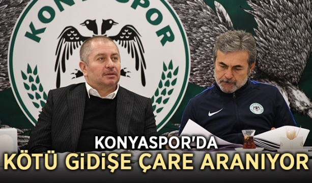 Konyaspor'da kötü gidişe çare aranıyor