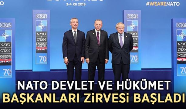 NATO Devlet ve Hükümet Başkanları Zirvesi başladı