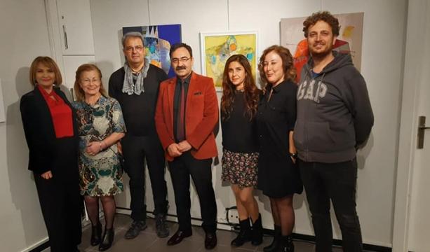 Enveroğlu, Adana'da  resim sergisi açtı
