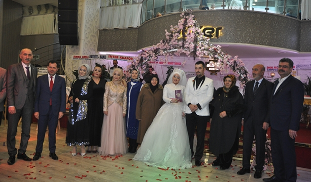 Tuğçe ve Mehmet mutluluğa 'Evet' dedi