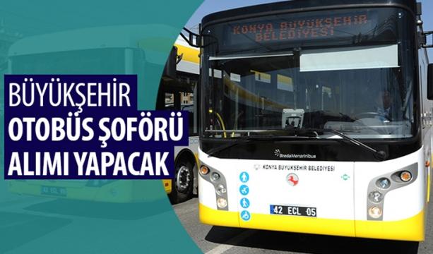 Büyükşehir, Otobüs Şoförü Alımı Yapacak