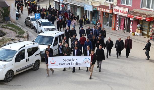 Hadim'de 'Sağlıklı Yaşam' yürüyüşü