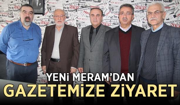 Yeni Meram'dan gazetemize ziyaret