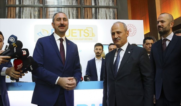 Adalet Bakanı Gül: Elektronik tebligat uygulamasıyla 630 bin ton kağıt tasarrufu sağlandı