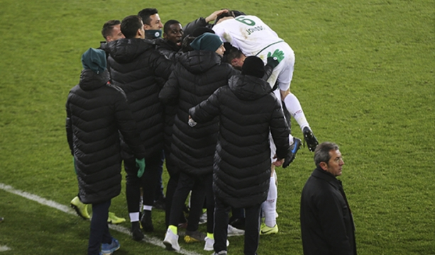 Konyaspor'da galibiyet sevinci