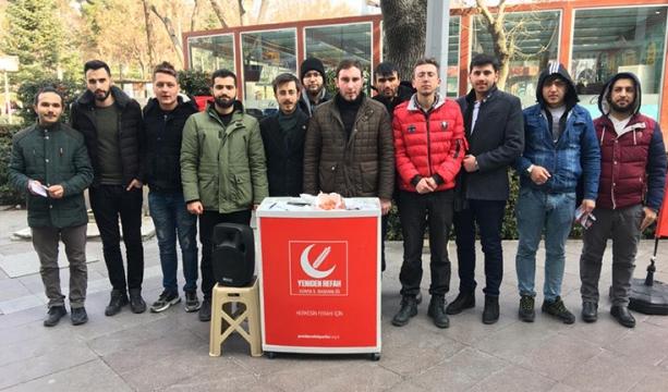 Yeniden Refah Partisi üye kabul standı açtı