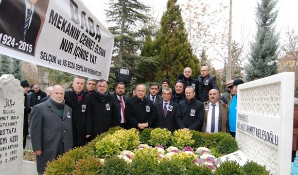 Keleşoğlu mezarı başında  anıldı