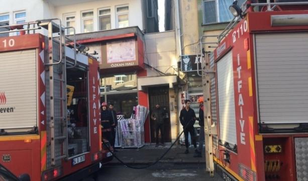 Doğalgaz sızıntısı nedeniyle evde yangın çıktı: 2 yaralı