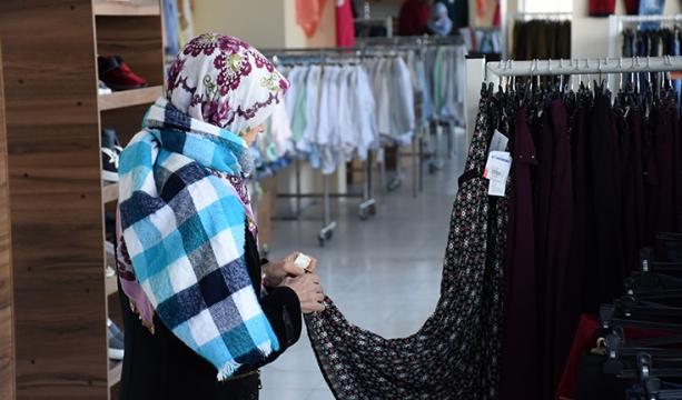 Veren elin alan eli görmediği 'sosyal market' 30 bin aileye ulaştı