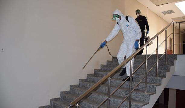 Karapınar'da dezenfekte çalışmaları sürüyor
