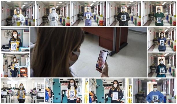 Kovid-19'un fedakar savaşçılarının yavrularına hasret 'Anneler Günü'