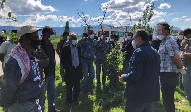 Mevsimlik  Tarım İşçilerine Bayram Ziyareti