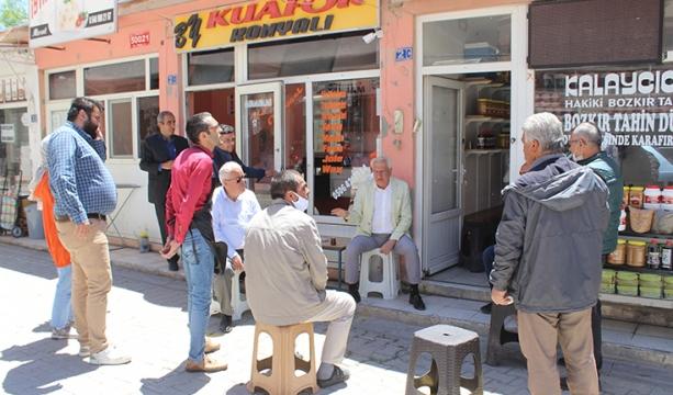 Bozkır'da tahinciler pazarı onarım çalışmasıyla modernleşecek