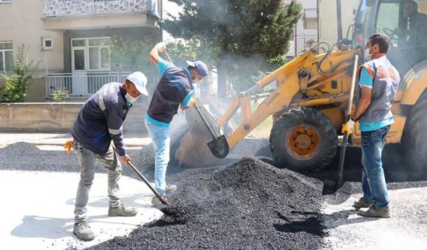 Beyşehir Belediyesinin Bozulan Yollardaki Mesaisi Devam Ediyor