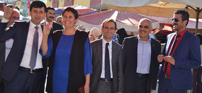 MHP'li Yücel hemşehrilerinden destek istedi