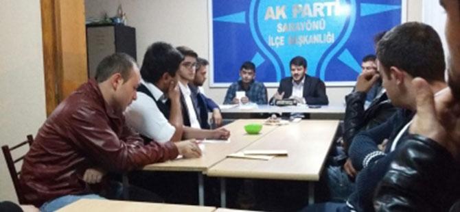 AK parti gençlik kolları bir araya geldi