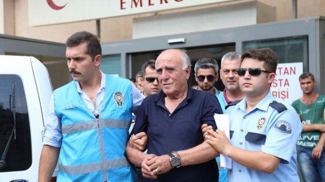 Hakan Şükür'ün babası Sermet Şükür gözaltına alındı