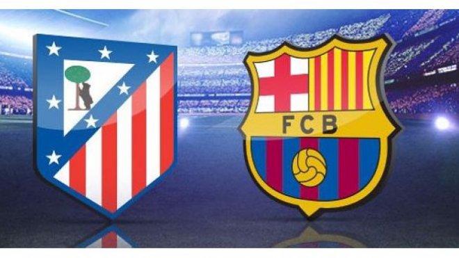 Atletico Madrid Barcelona maçı skor kaç kaç (Atletico Barcelona özet)