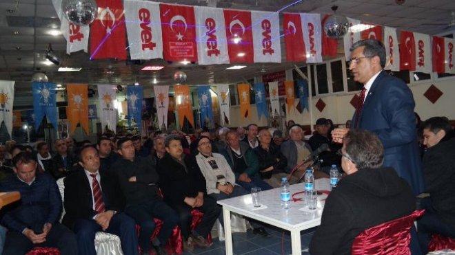 """Konuk: """"Tek derdimiz Türkiye ve milletimizdir"""""""