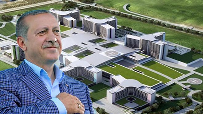 Erdoğan: Şehir hastaneleri 1,5 yılda tamamlanacak