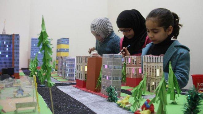 Minikler hayallerindeki Suriye'yi