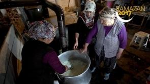 Ramazanda kazanlar çeçil peyniri için yakıldı