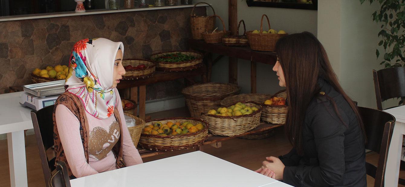 Konya'nın organik besinleri Hatunsaray'da yetişiyor
