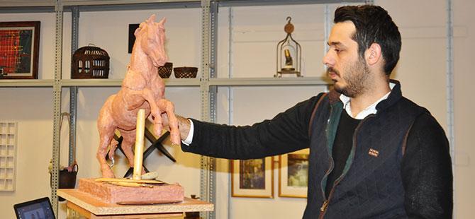İlk dijital heykeltıraşçılık Konya'da başladı