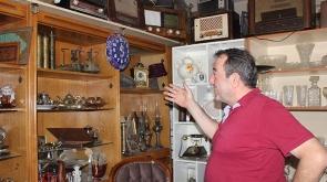 "Antika merakı ""koleksiyoner"" yaptı"
