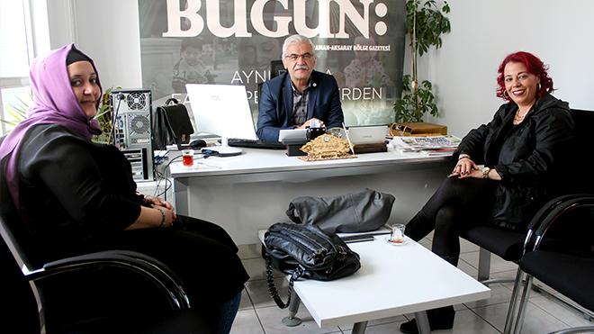 Eşrefoğlu İlkokulun'dan gazetemize ziyaret