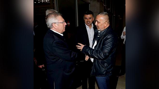 Bülent Kaşdoğan – Aziz Yıldırım buluşması