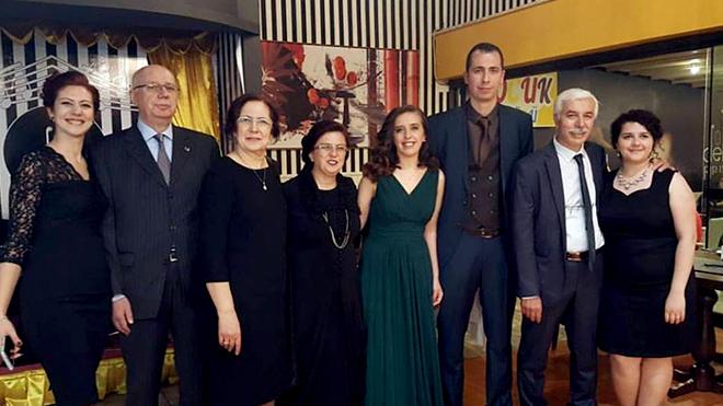Ömer Çataltepe kızının nişanını yaptı