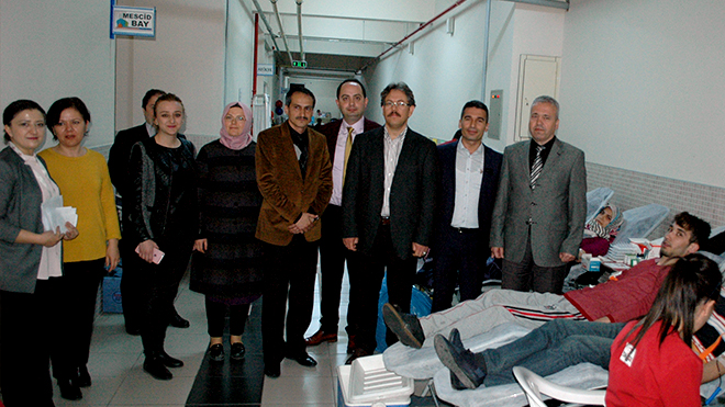 Cahit Zarifoğlu İlkokulu'ndan rekor bağış