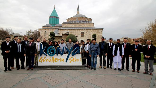Pakistan Heyeti'nden Konya'ya çıkarması