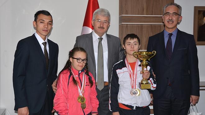 Özel Spor Kulübü öğrencileri Türkiye şampiyonu oldu