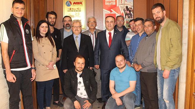 Gazete ekibinden Ahmet Baydar'a sürpriz ziyaret