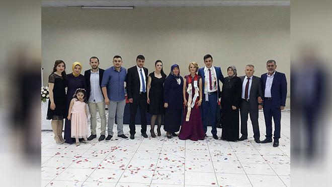 Necati Tolgay  evliliğe ilk adımını attı