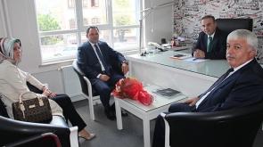 Konya SGK Müdürü Yavuz'dan Ahmet Baydar'a ziyaret