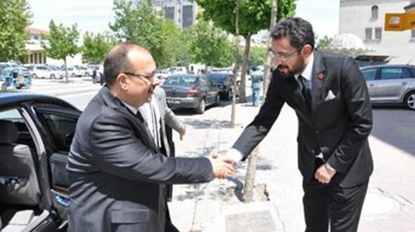 Selçuk Pehlivanoğlu'ndan Vali Canbolat'a ziyaret