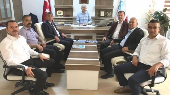 Türk Eğitim-Sen'den Gürsoy'a ziyaret