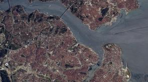 Fransız astronot uzaydan İstanbul'u görüntüledi